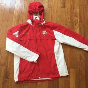Other - Arsenal rain jacket, youth L/women's S